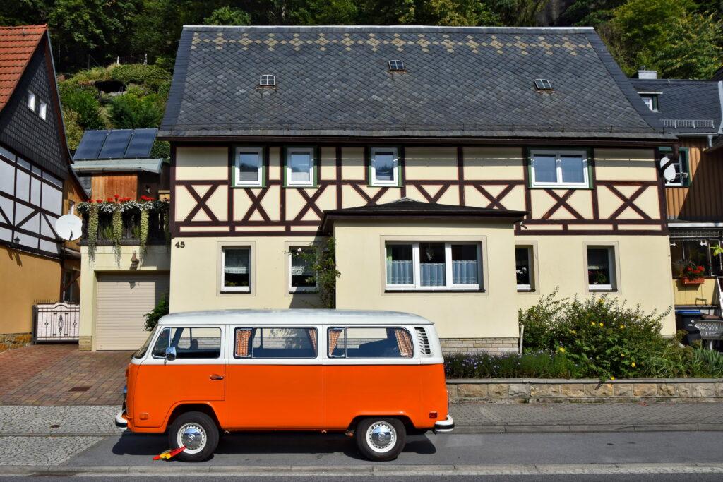 Bad Schandau zabudowa volkswagen