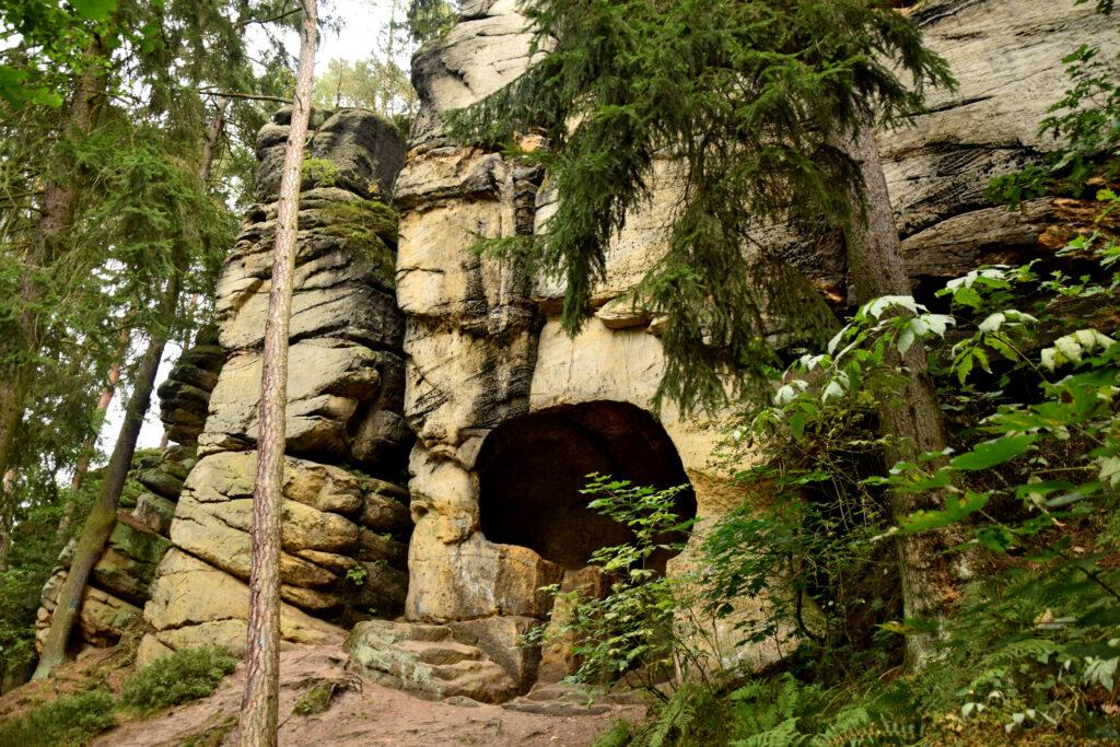 Jaskinia Cygańska Czeska Szwajcaria