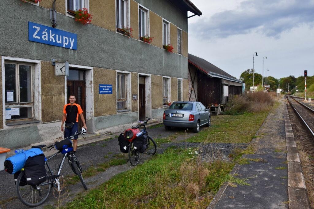 Czechy Zakupy stacja kolejowa