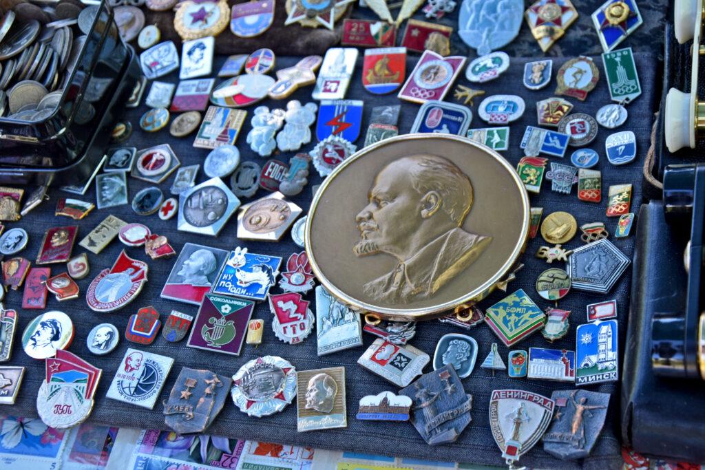 Sofia Lenin na bazarze