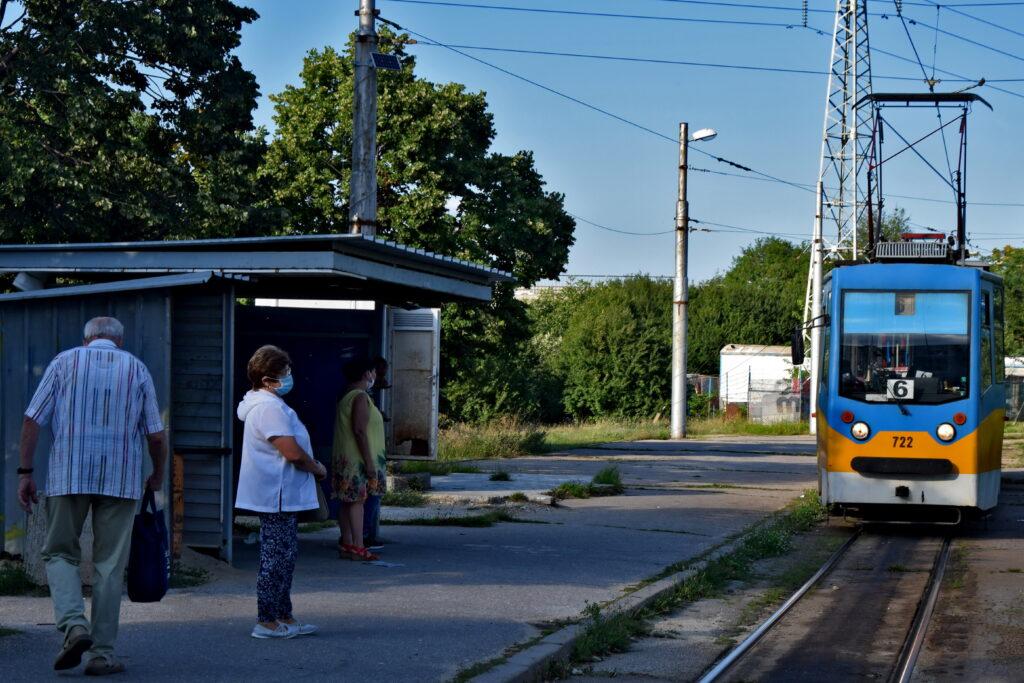sofia tramwaj komunikacja miejska