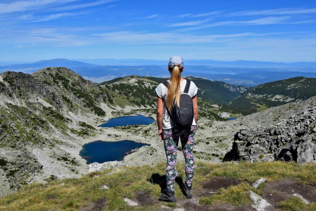 Musała - Park Narodowy Riła - widok ze szlaku na Musałę, najwyższy szczyt Bułgarii i Bałkanów.