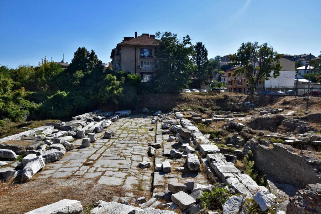 Płowdiw, Plovdiv. Ruiny antyczne, starożytny Rzym.