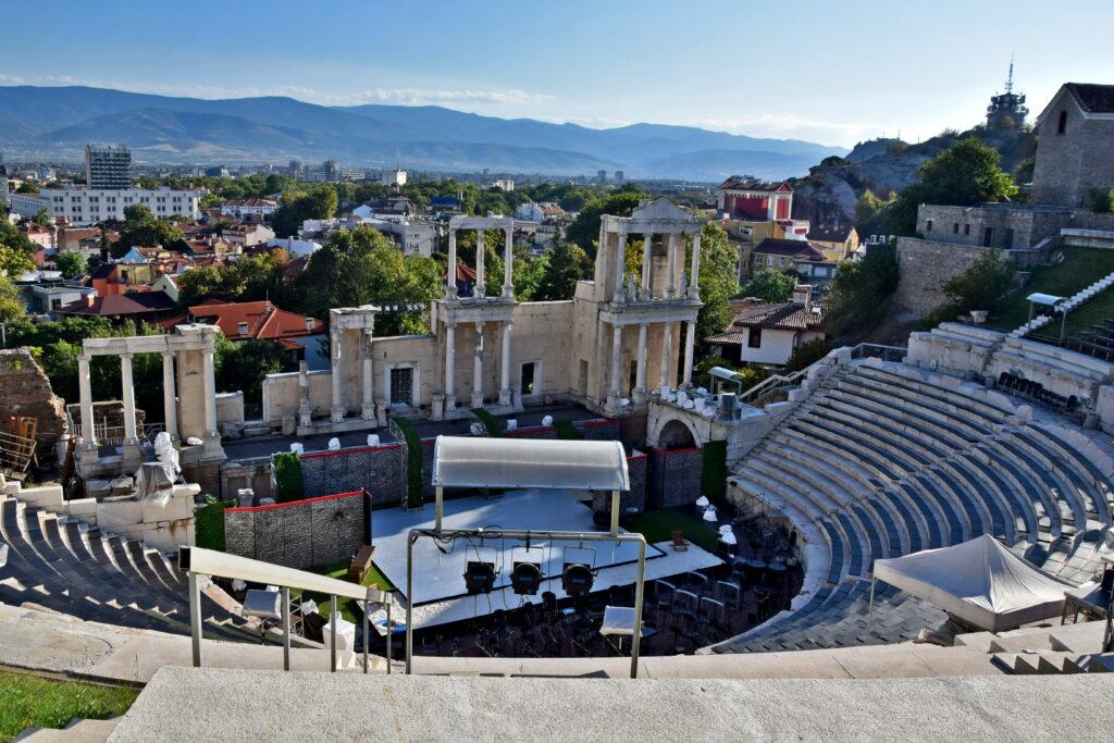 Płowdiw (Plovdiv) - amfiteatr ze 116 r.n.e.