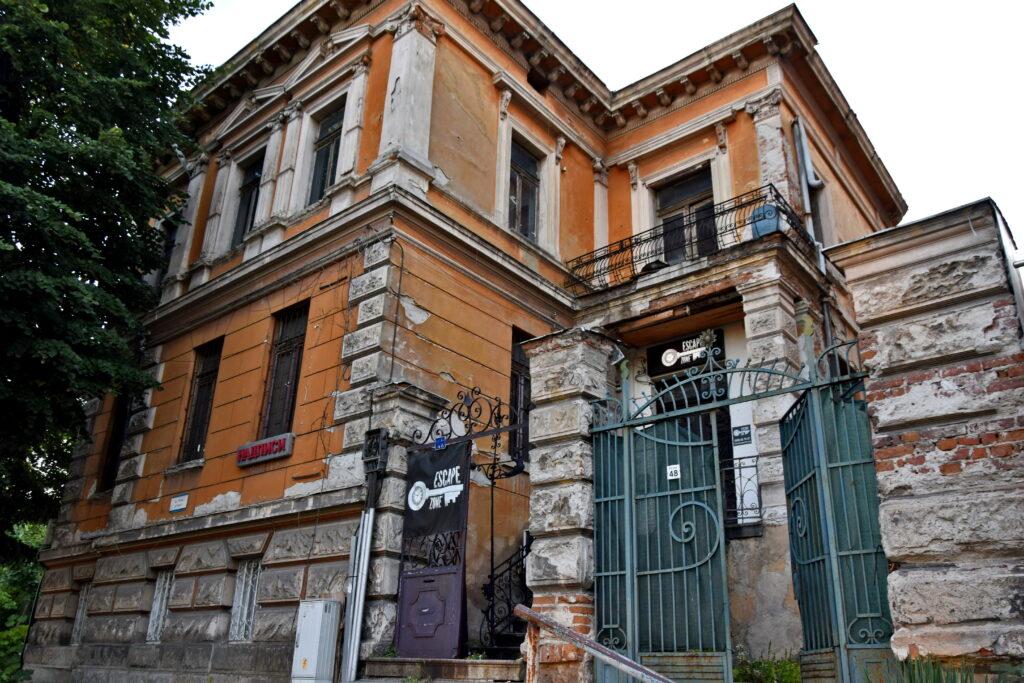 Płowdiw (Plovdiv) - escape room w starej kamienicy.