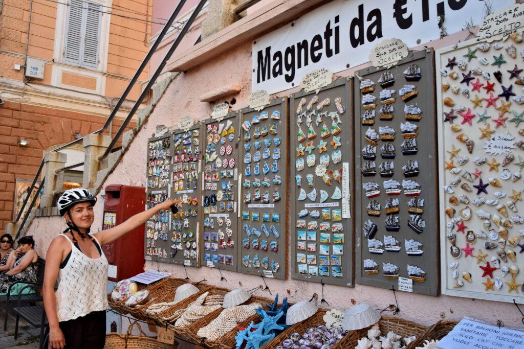 La Maddalena - magnes, pamiątki, souvenirs