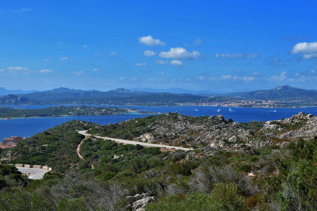 La Maddalena - widok z trasy Panoramica