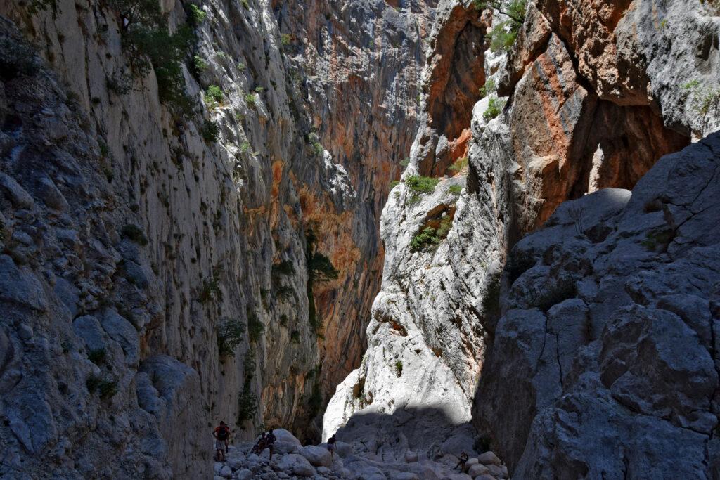 Wąwóz kanion Su Gorropu Sardynia