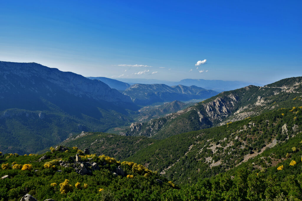 Sardynia - park narodowy Gennargentu