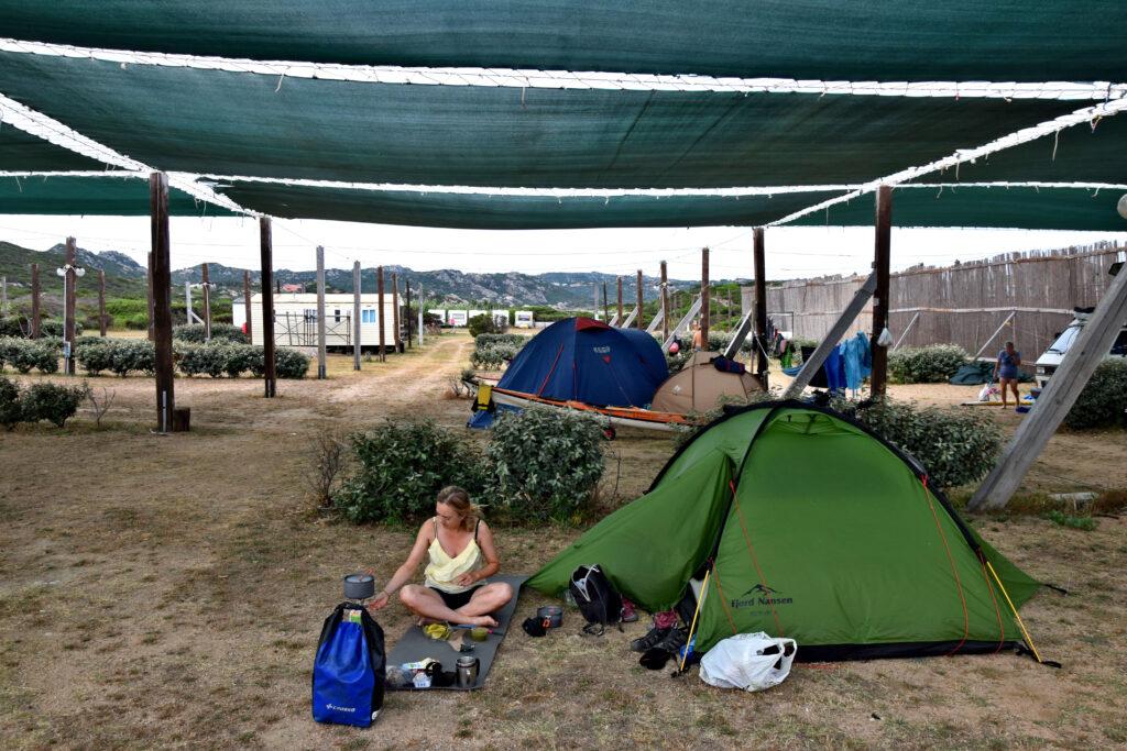 La Maddalena - camping Abbatoggia