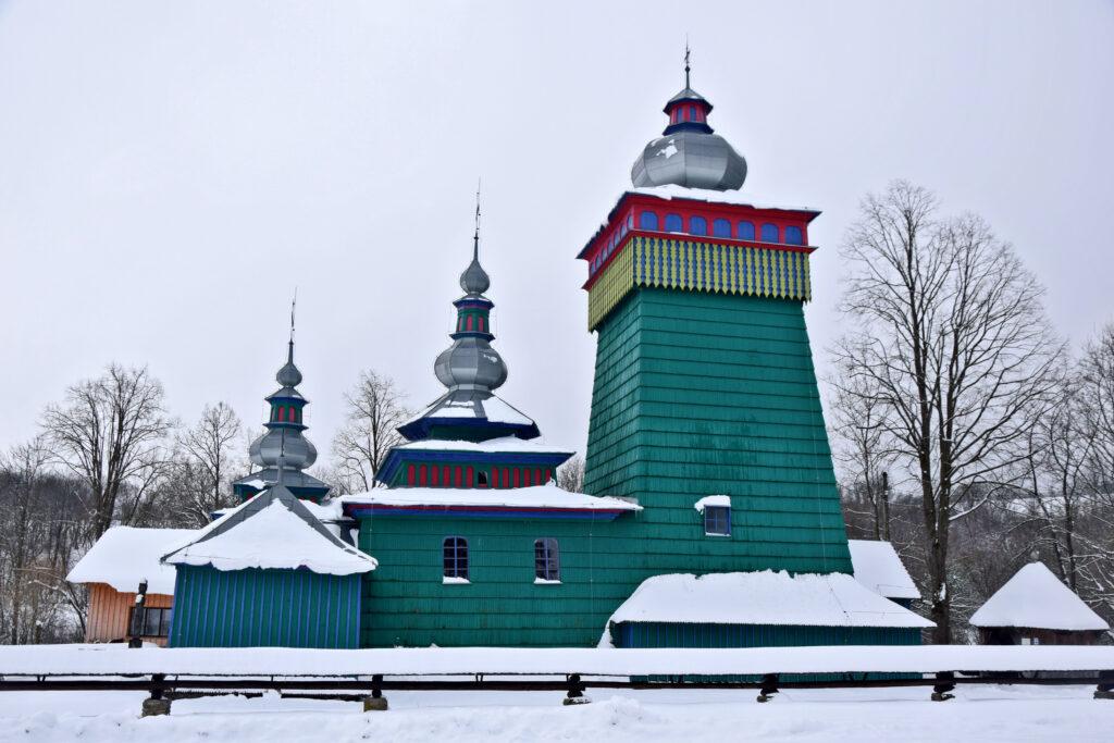 Świątkowa Wielka Kolorowa cerkiew św. Michała Archanioła