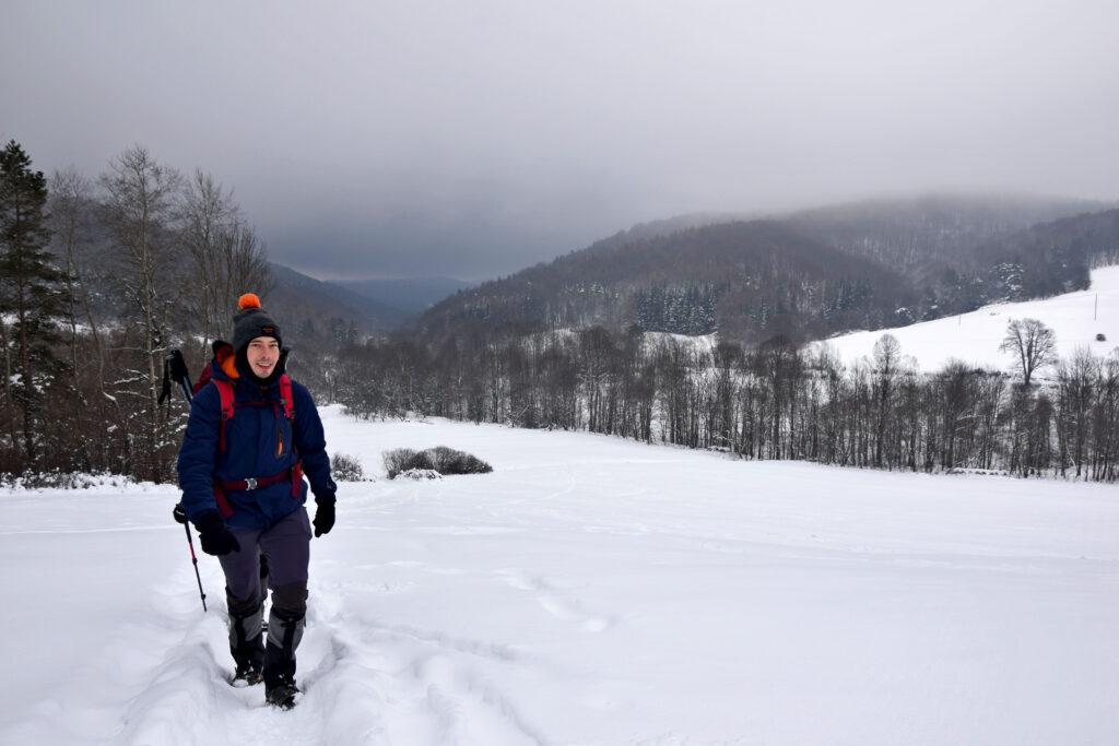 Magurski Park Narodowy - szlak na szczyt Wysokie.
