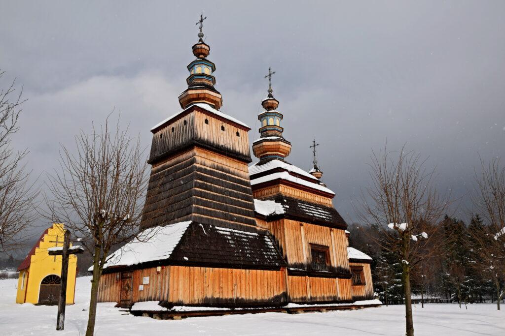 Krempna, Cerkiew greckokatolicka św. Kosmy i Damiana