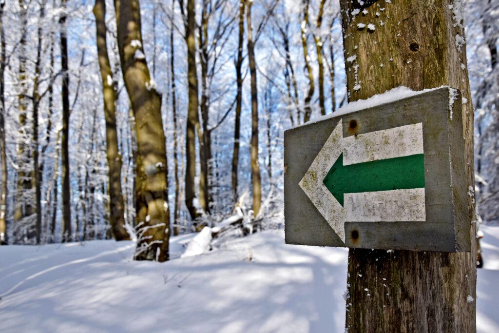 Magurski Park Narodowy zimą, Magura.