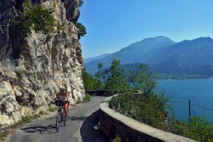 Jezioro Garda - mekka rowerzystów z całej Europy