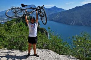 Jezioro Garda - trasy rowerowe