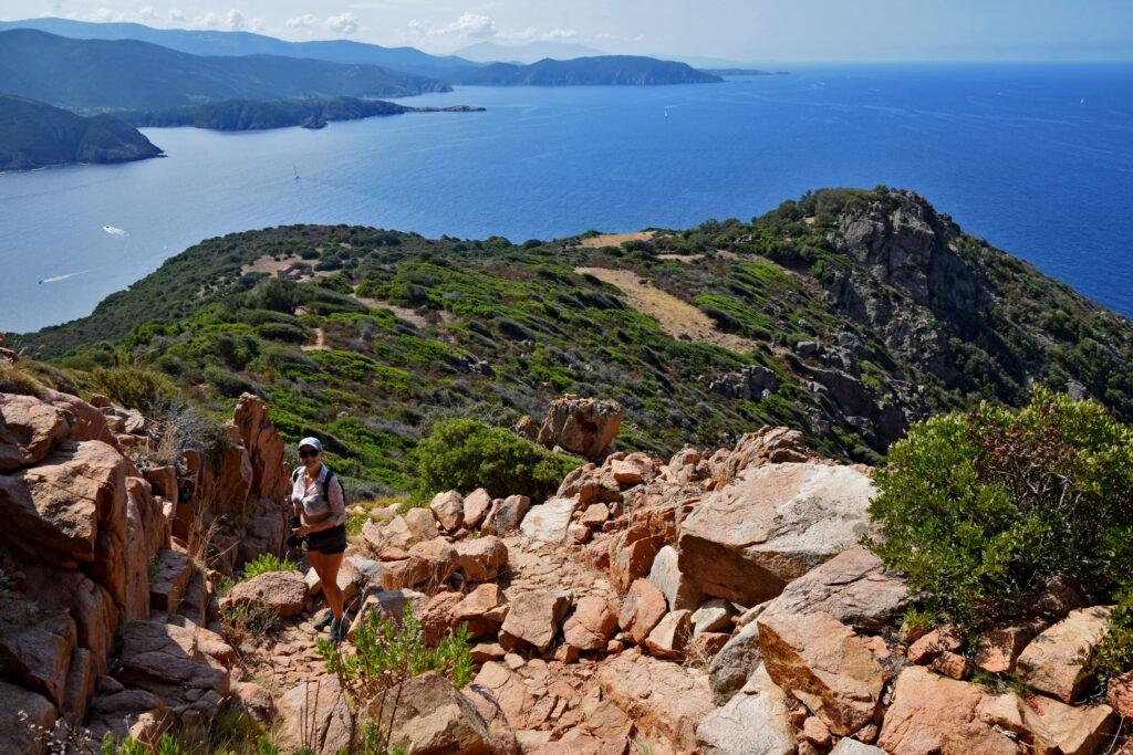 Capu Rossu trekking Korsyka