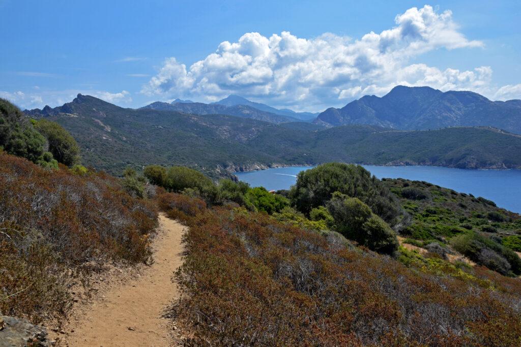 Capu Rossu szlak, Korsyka trekking