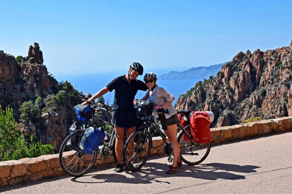 Dawid Białowąs, Gdzie Los Poniesie, korsyka na rowerze