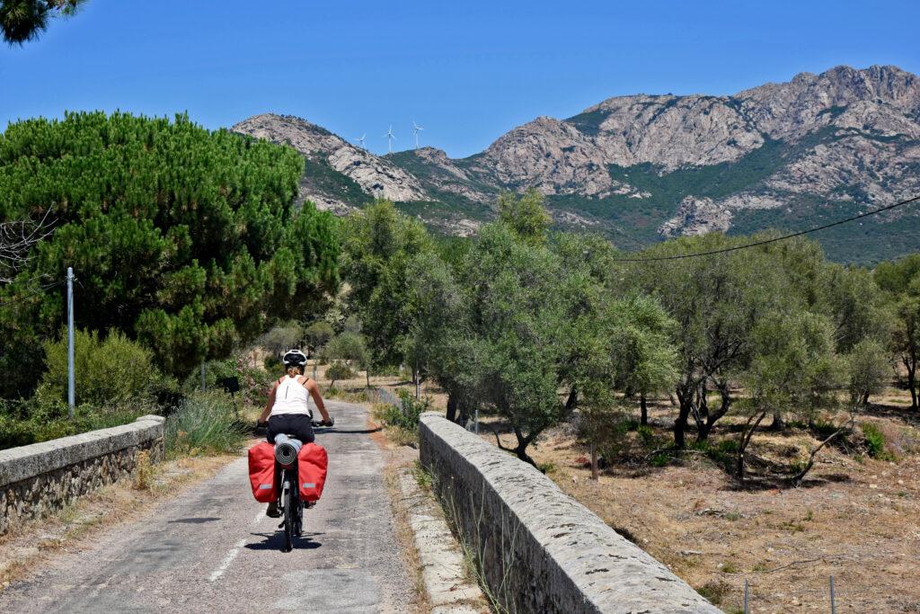 Korsyka na rowerze Gdzie Los Poniesie