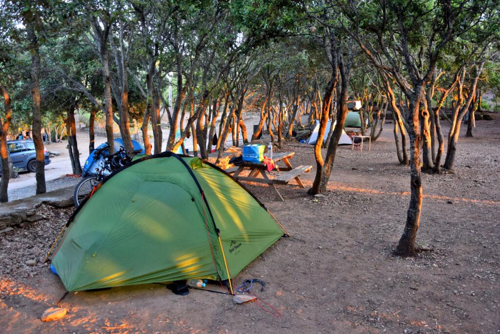 Cap Corse camping isulottu
