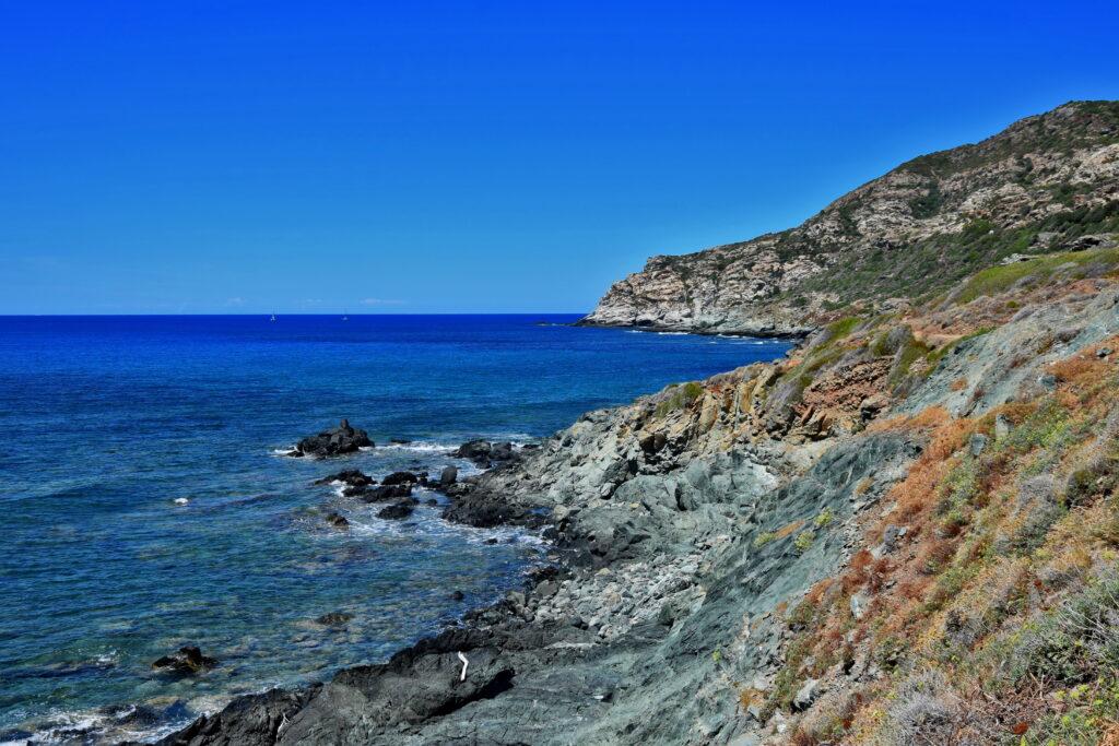 Szlak Porto de Centuri - wybrzeże. Korsyka trekking Cap Corse
