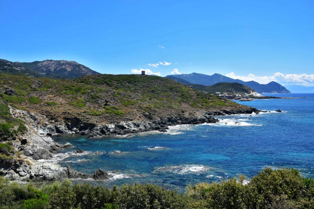 Cap Corse - zachodniej wybrzeże.