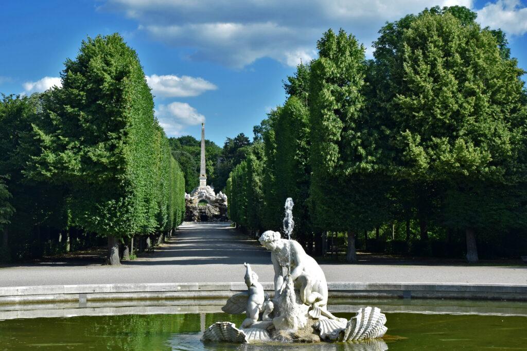 Pałac Schönbrunn ogrody Wiedeń atrakcje