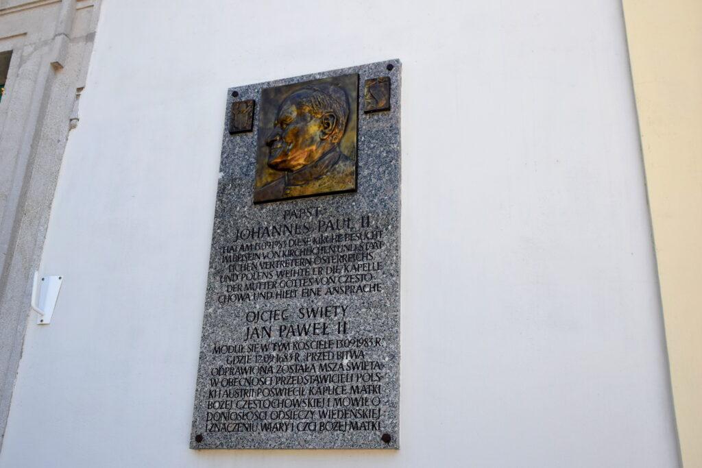 Wiedeń Polski kościół Jan Paweł II