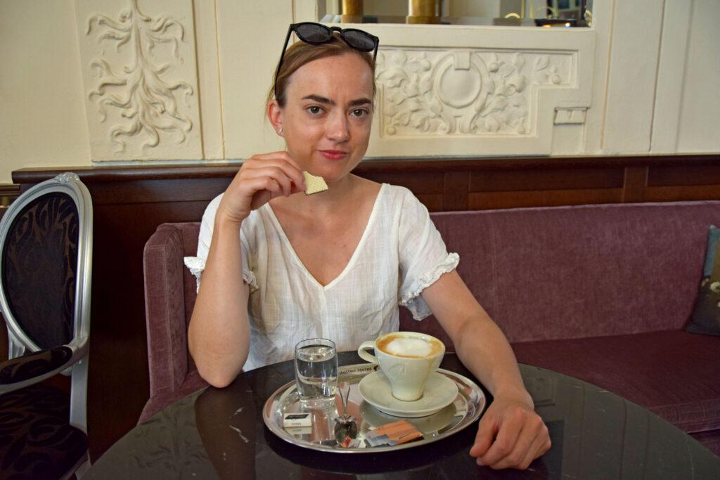 Wiedeń Caffe Ritter, kawa po wiedeńsku