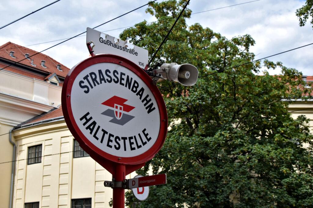Wiedeń przystanek tramwajowy Gdzie Los Poniesie