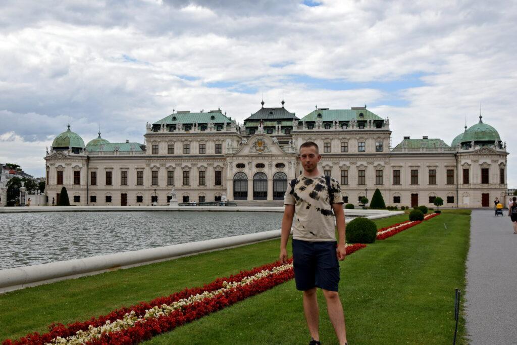 Wiedeń Belweder pałac i ogród atrakcje co zobaczyć
