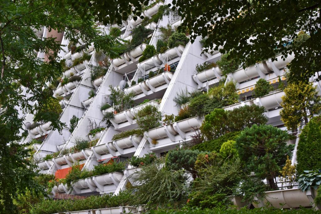 Osiedle Alterlaa nietypowe atrakcje w Wiedniu blokowisko