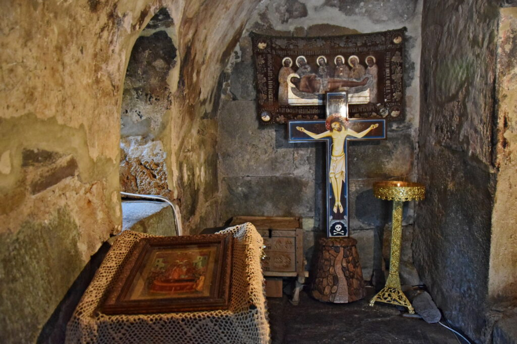 Ushguli cerkiew kościół, prawosławie Swanetia