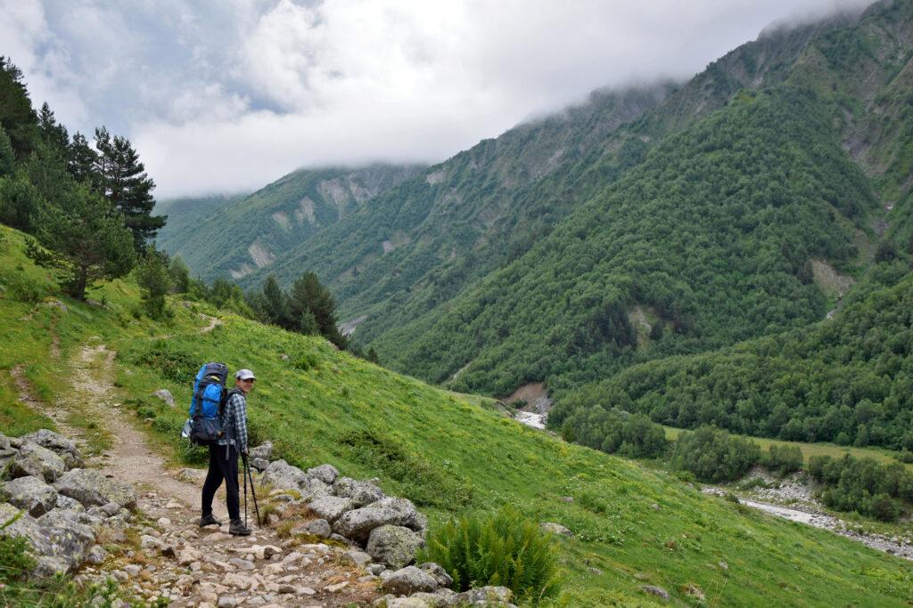 Adishi - Ushguli szlak pieszy. Swanetia trekking