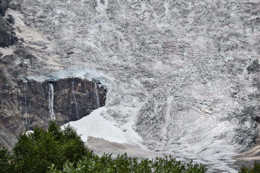 Swanetia, lodowiec Adishi. Trekking z mestii do ushguli, Gruzja