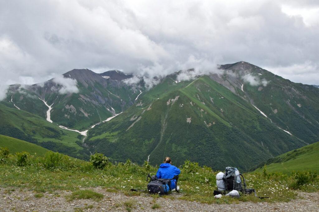Przełęcz Chkhunderi pass