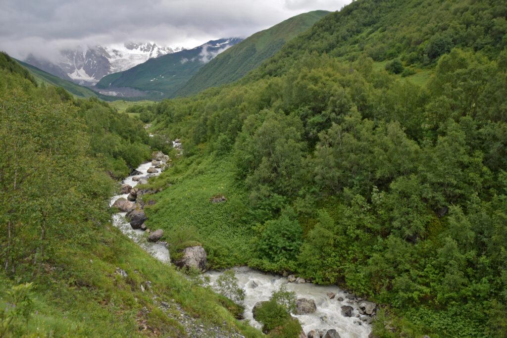 Swanetia Trekking z mestii do Ushguli - dolina Khaldeschali