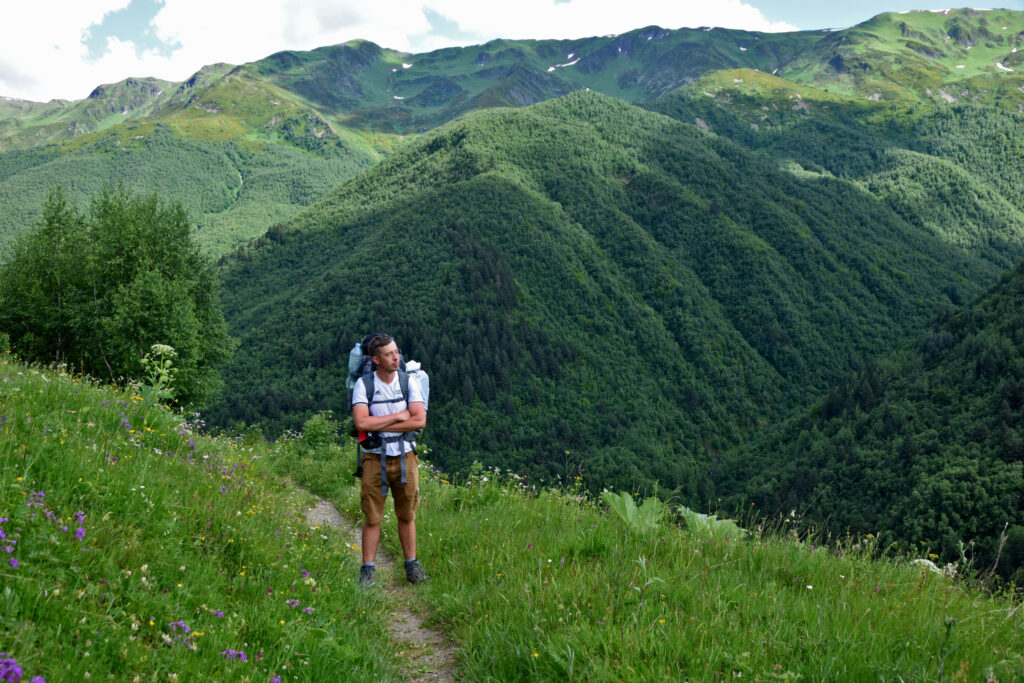 Swanetia - trekking z Mestii do Ushguli.