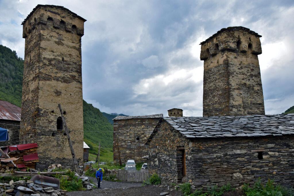 Ushguli wieże swańskie