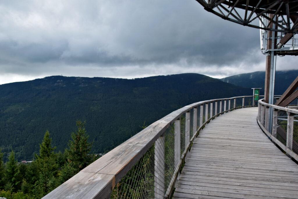 Ścieżka w obłokach Dolna Morawa Czechy