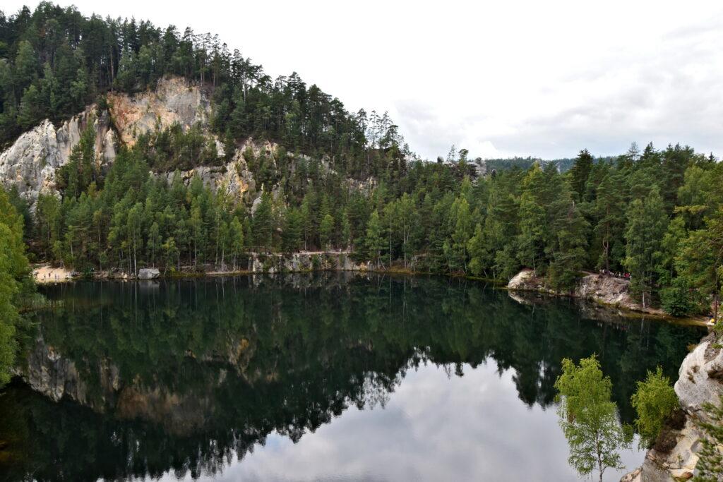 Adrspach jezioro rezerwat