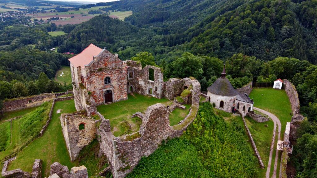 Zamek Potštejn Czeskie zamki
