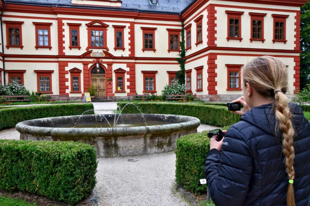 Jilemnice - pałac, zamek, muzeum karkonoskie. Czeskie zamki