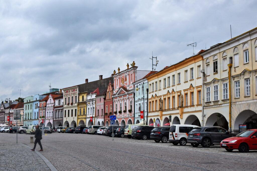 Letohrad stare miasto Czechy