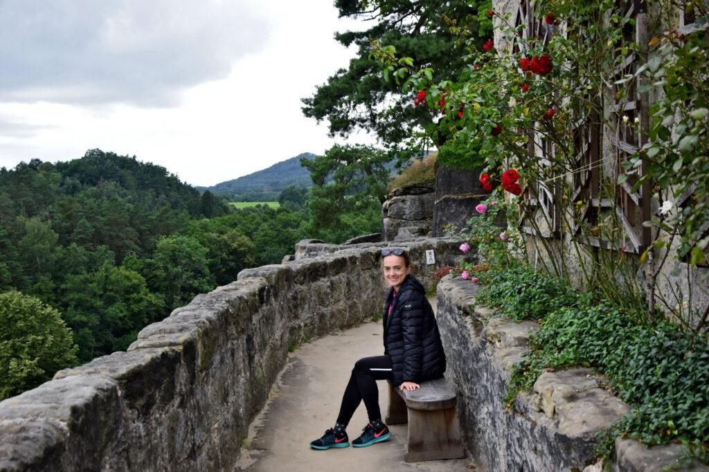 Zamek sloup w cechach - Czeskie zamki. Widok