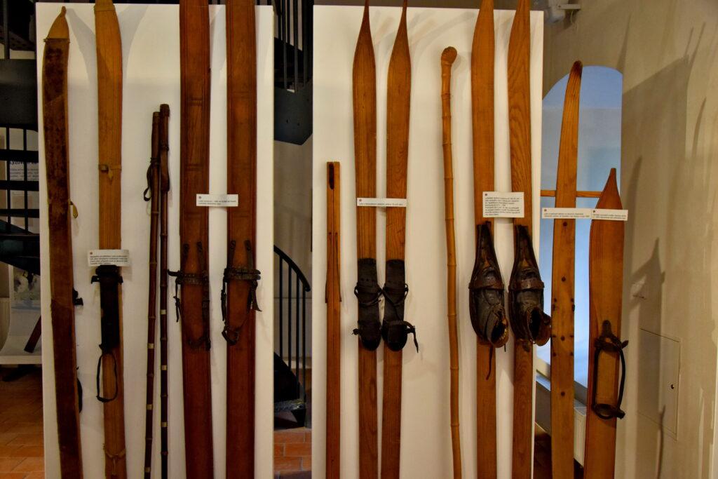 Jilemnice, muzeum narciarstwa. Czechy